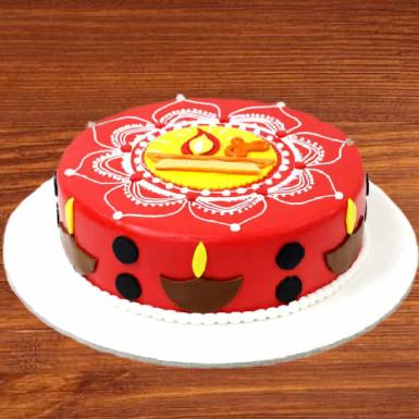 Buy Rangoli Cake