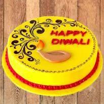 Mango Diwali Cake