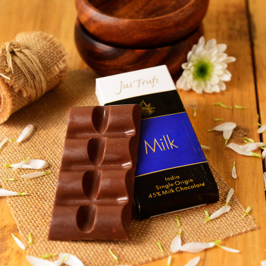 Buy Artisanal Milk Chocolate Bar Set of 2