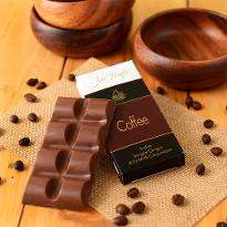 Artisanal Coffee Milk Chocolate Bar Set of 2