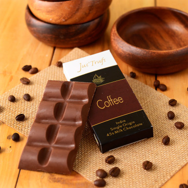Buy Artisanal Coffee Milk Chocolate Bar Set of 2