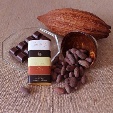 Buy Artisanal Organic Dark Chocolate Bar Set of 2
