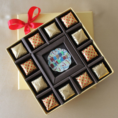 Buy Happy Birthday Rosette with Truffles