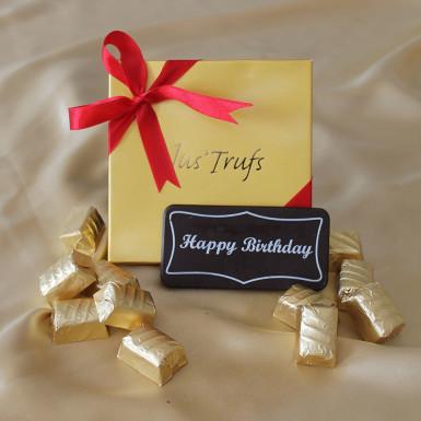 Buy Happy Birthday Bar with Classic Truffles