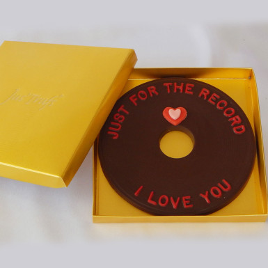Buy Just for the record I LOVE YOU Valentine Chocolate