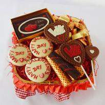 Be Mine Chocolate Hamper