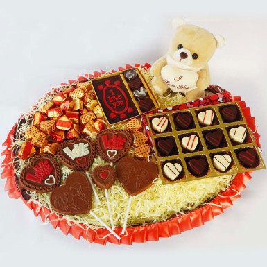 Buy All My Love Chocolate Hamper