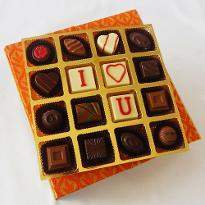 Romantic Elegant Chocolate box