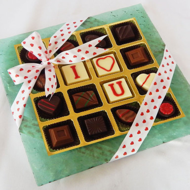 Buy I Love You Chocolate Platter