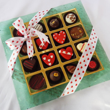 Buy Designer Platter with Marzipan Joy