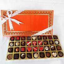 Assorted Chocolate Truffles box of 36