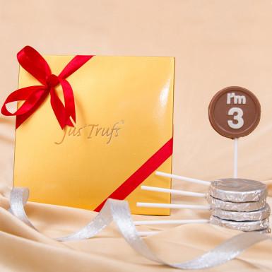 Buy Classic 3 Chocolate Lollipop