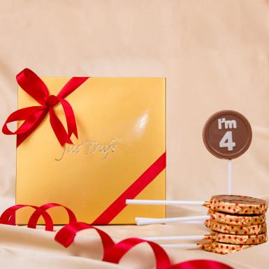 Buy Classic 4 Chocolate Lollipop