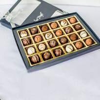 Belgian Style Pralines box of 24