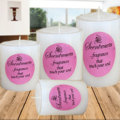 Buy Set of 4 Scented Candles