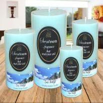 Set of 4 Sea Breeze Candles