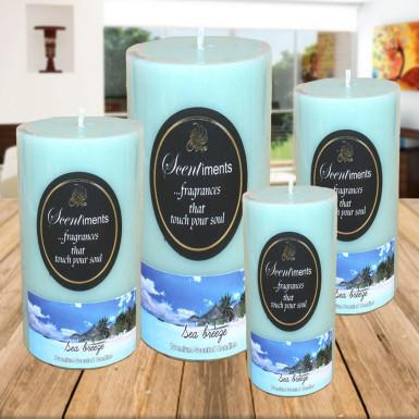 Buy Set of 4 Sea Breeze Candles