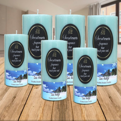 Buy 6 Sea Breeze Candles