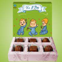 Baby Boy Chocolates
