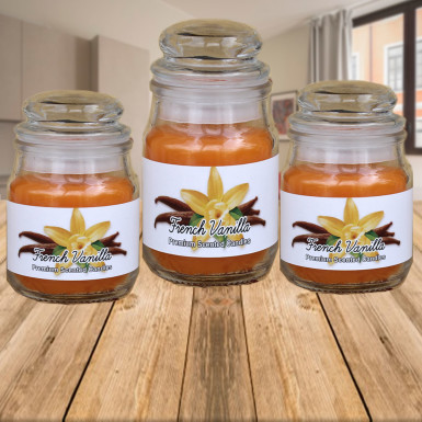Buy French Vanilla Jar Candles
