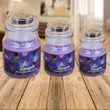 Buy Lavender Fragrance Jar Candles