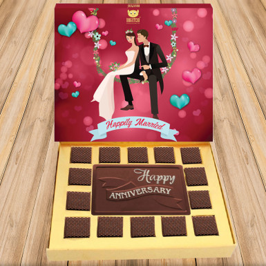 Buy Lovely Anniversary Chocolate