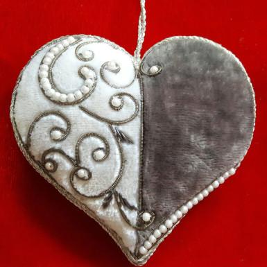 Buy Heart Shape Xmas Tree Ornament