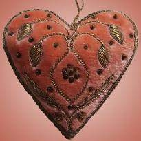 Lovely Heart Shaped Decorative Piece