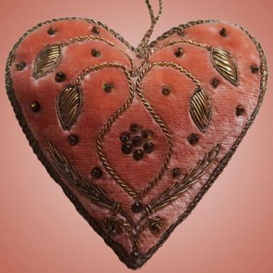 Buy Lovely Heart Shaped Decorative Piece