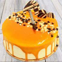 Appetizing Butterscotch Cake