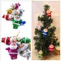 Xmas tree with Santa Claus