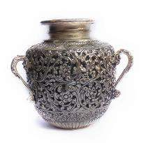White Metal Water Pot