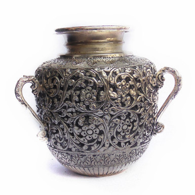 Buy White Metal Water Pot