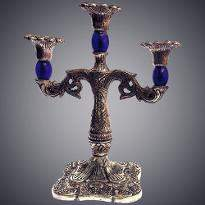 Candle Stand in Blue Color
