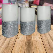 Sparkling Designer Candles