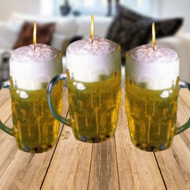 Buy Beer Mug Candles