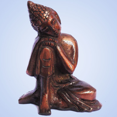 Buy White Metal Buddha
