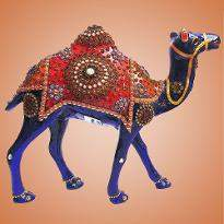 Camel with Stone Work