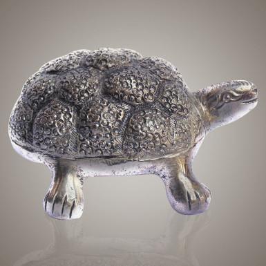 Buy White Metal Unique Tortoise