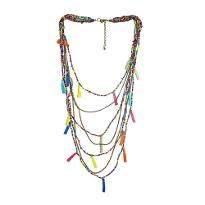 Fashionable Multi Color Necklace