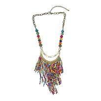 Multi String Multi Color Necklace