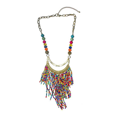 Buy Multi String Multi Color Necklace