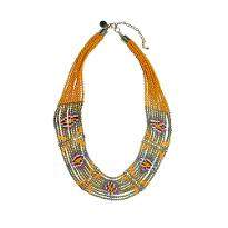Fashionable Yellow Necklace