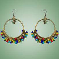 Multi Color Jhumka