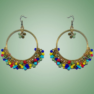 Buy Multi Color Jhumka