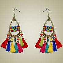 Multi Color Earring
