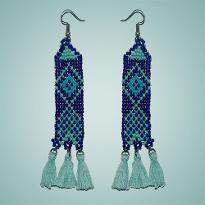 Earring with Beads