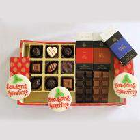 Designer Christmas and New Year Chocolate Hamper