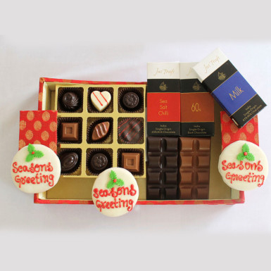 Buy Designer Christmas and New Year Chocolate Hamper