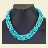 Beautiful Sky Blue Necklace